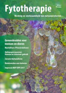 NTvF Nederlands Tijdschrift voor Fytotherapie curcuma dieren