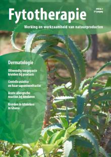 NTvF Nederlands Tijdschrift voor Fytotherapie huid dermatologie centella asiatica