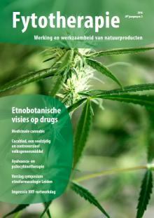 NTvF Nederlands Tijdschrift voor Fytotherapie ayahuasca cannabis cocablad