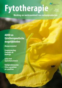 NTvF Nederlands Tijdschrift voor Fytotherapie ADHD